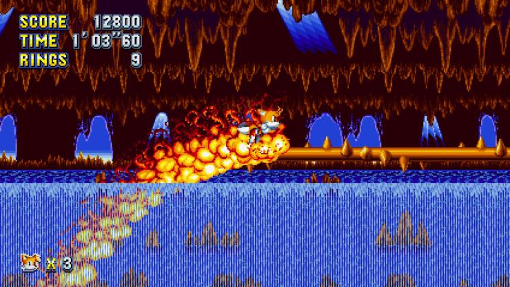 Sonic Mania Knuckles Screenshot 2017-08-23 17-19-46